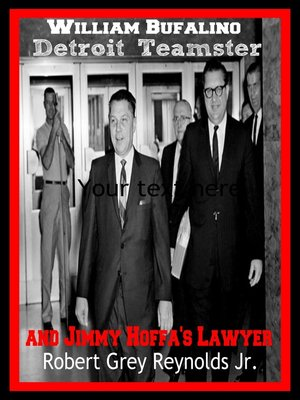 cover image of William Bufalino Detroit Teamster and Jimmy Hoffa's Lawyer
