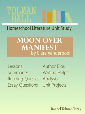 cover image of Moon Over Manifest by Clare Vanderpool