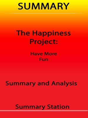 cover image of The Happiness Project / Summary