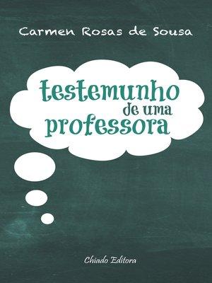 cover image of Testemunho de Uma Professora