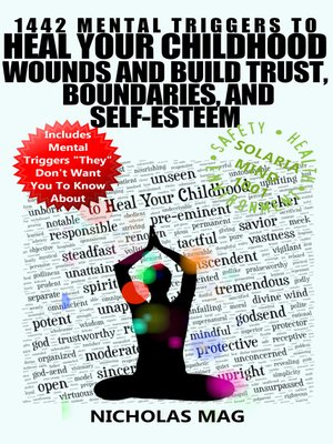 cover image of 1442 Mental Triggers to Heal Your Childhood Wounds and Build Trust, Boundaries, and Self-Esteem