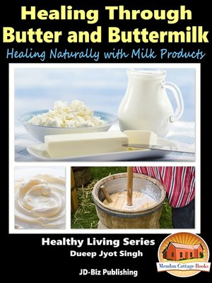 cover image of Healing Through Butter and Buttermilk