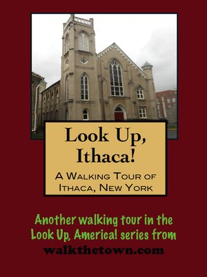cover image of A Walking Tour of Ithaca, New York