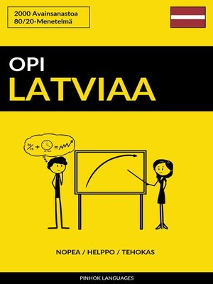 cover image of Opi Latviaa