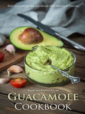 cover image of Guacamole Cookbook