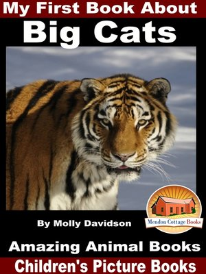 cover image of My First Book About Big Cats