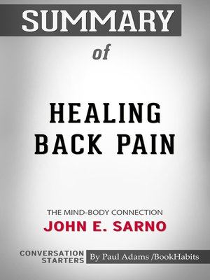 cover image of Summary of Healing Back Pain