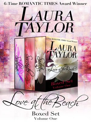 cover image of Love at the Beach Boxed Set (Volume One--3 Complete Novels)