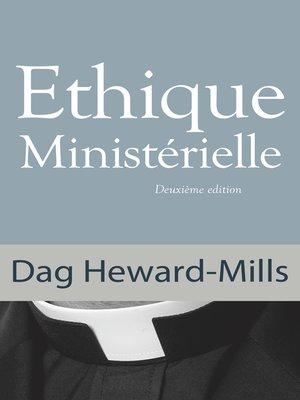 cover image of Éthique Ministérielle 2ème édition