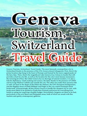 cover image of Geneva Tourism, Switzerland