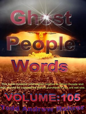 cover image of Ghost Person Words