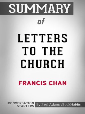 cover image of Summary of Letters to the Church by Francis Chan / Conversation Starters
