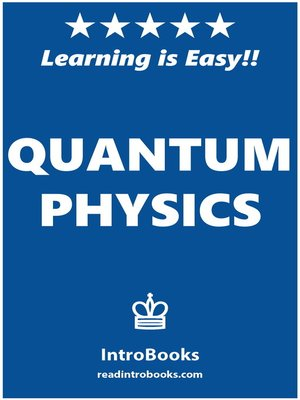 cover image of Quantum Physics