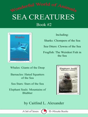 cover image of Sea Creatures Book #2