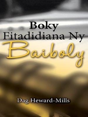 cover image of Boky Fitadidiana Ny Baiboly