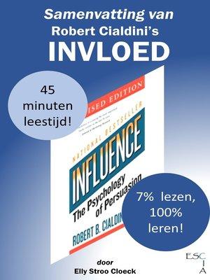cover image of Samenvatting van Robert Cialdini's Invloed