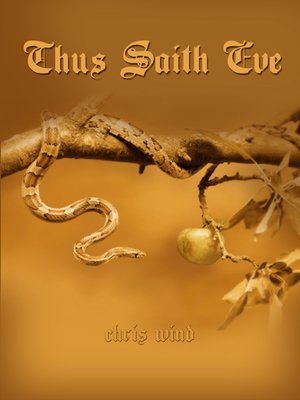 cover image of Thus Saith Eve