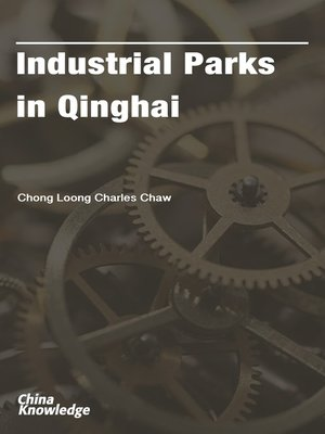 cover image of Industrial Parks in Qinghai