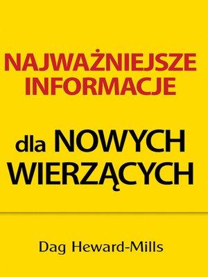 cover image of Najważniejsze Informacje Dla Nowych Wierzących