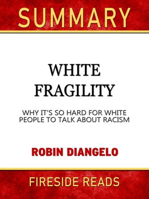 cover image of Summary of White Fragility
