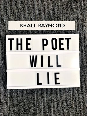 cover image of The Poet Will Lie