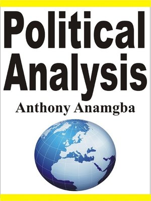 cover image of Political Analysis