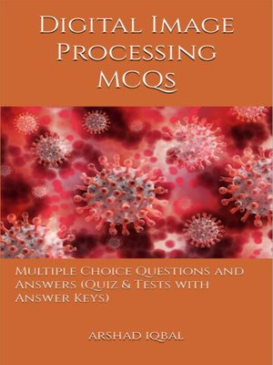 cover image of Digital Image Processing MCQs