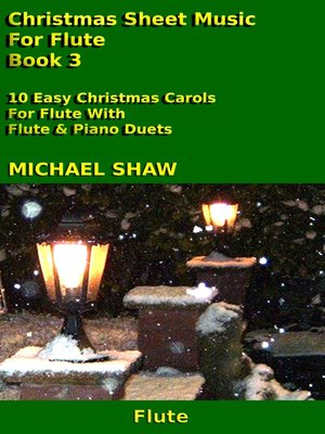 cover image of Christmas Sheet Music For Flute