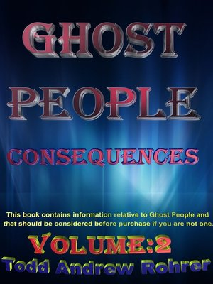 cover image of Ghost People Consequences