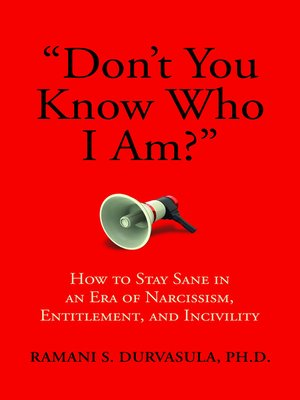 """cover image of """"Don't You Know Who I Am?"""""""