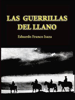 cover image of Las guerrillas del Llano
