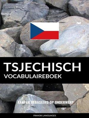 cover image of Tsjechisch vocabulaireboek