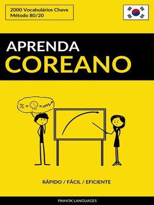cover image of Aprenda Coreano