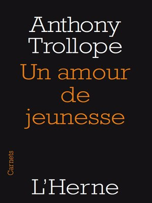 cover image of Un amour de jeunesse