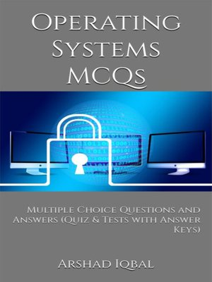 cover image of Operating Systems MCQs