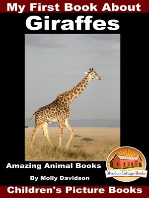 cover image of My First Book about Giraffes