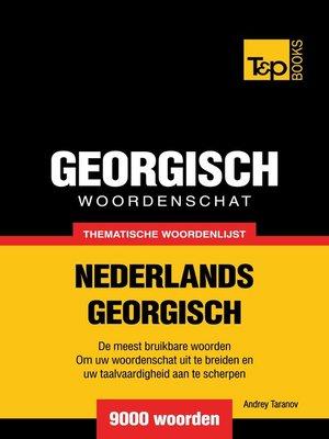 cover image of Thematische woordenschat Nederlands-Georgisch