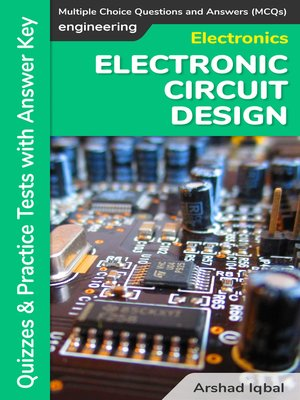 cover image of Electronic Circuit Design MCQs