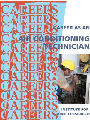cover image of Career as an Air Conditioning Technican