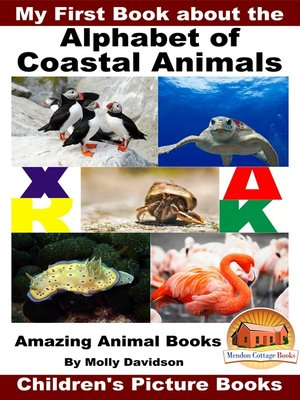 cover image of My First Book about the Alphabet of Coastal Animals