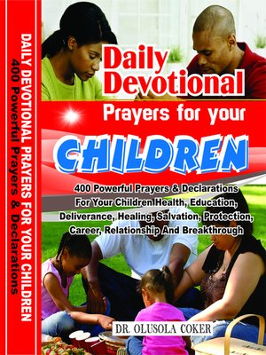 cover image of Daily Devotional Prayers For Your Children
