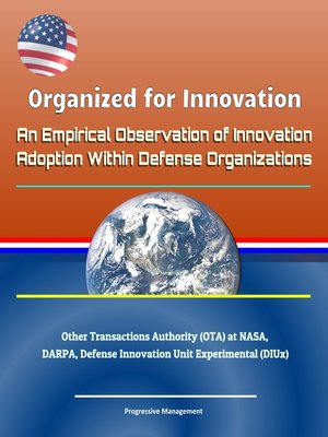 cover image of Organized for Innovation