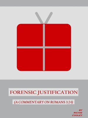 cover image of Forensic Justification (A Commentary on Romans 3