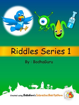 cover image of Riddles Series 1