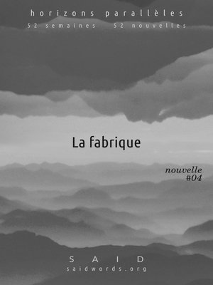 cover image of La fabrique