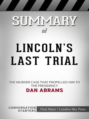 cover image of Summary of Lincoln's Last Trial