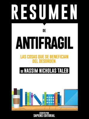 cover image of Antifragil