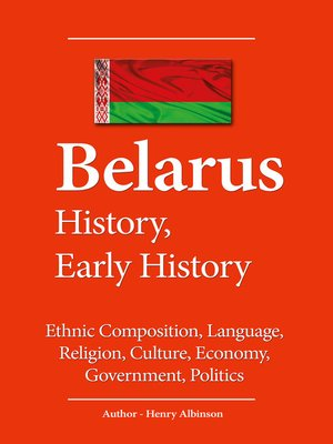 cover image of Belarus History, Early History