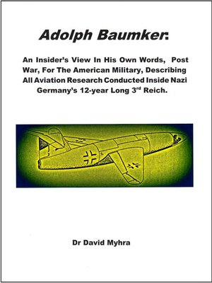 cover image of Adolph Baumker