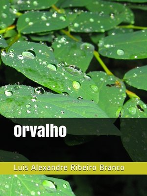 cover image of Orvalho